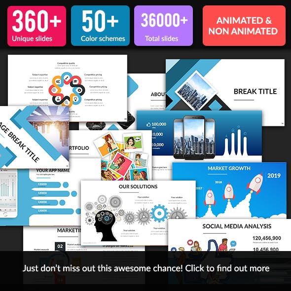 360+ Ultimate Pitch Deck Tool Kit