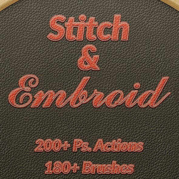 Stitch and Embroid - Titan Action Pack