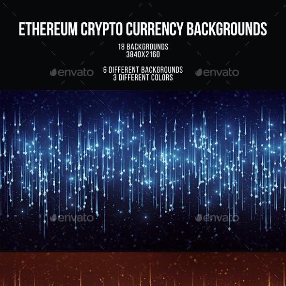 Ethereum Crypto Currency Backgrounds