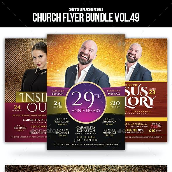 Church Flyer Bundle Vol. 49