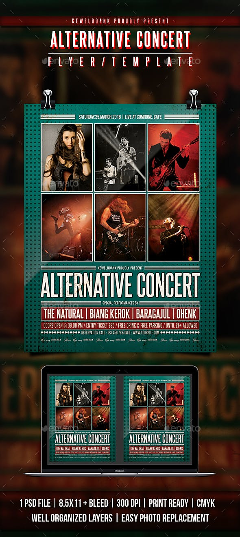 Alternative Concert Flyer / Poster