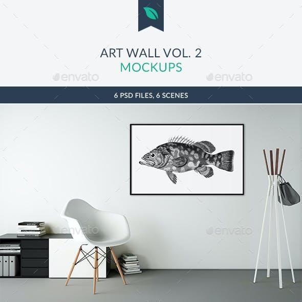 Art Wall Mockups Vol.2