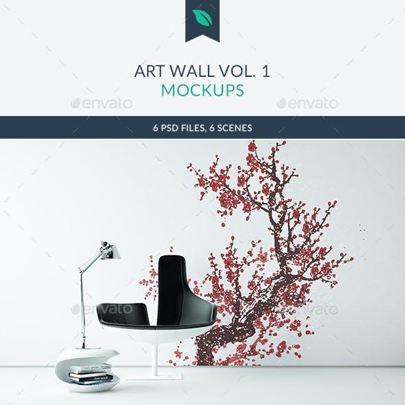 Art Wall Mockups Vol.1