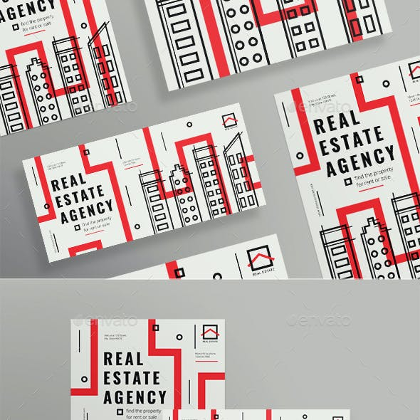 Real Estate Agency Flyers