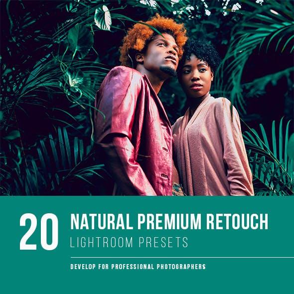 20 Natural Premium Retouch Presets