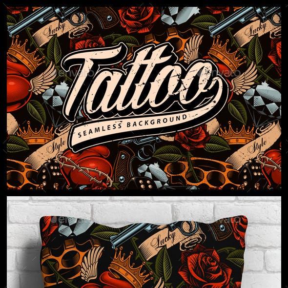 Tattoo Seamless Background
