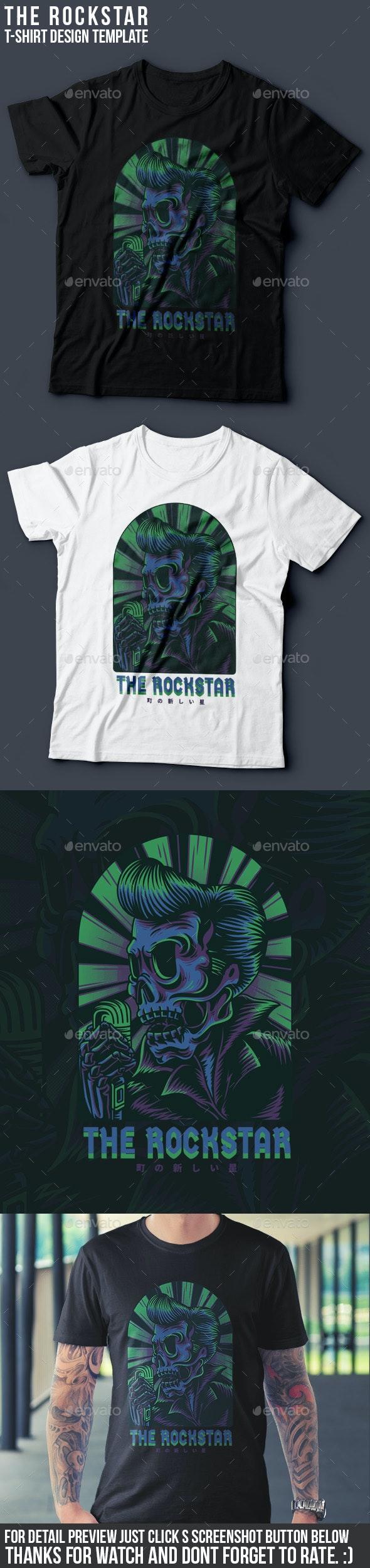 The Rockstar T-Shirt Design - Events T-Shirts