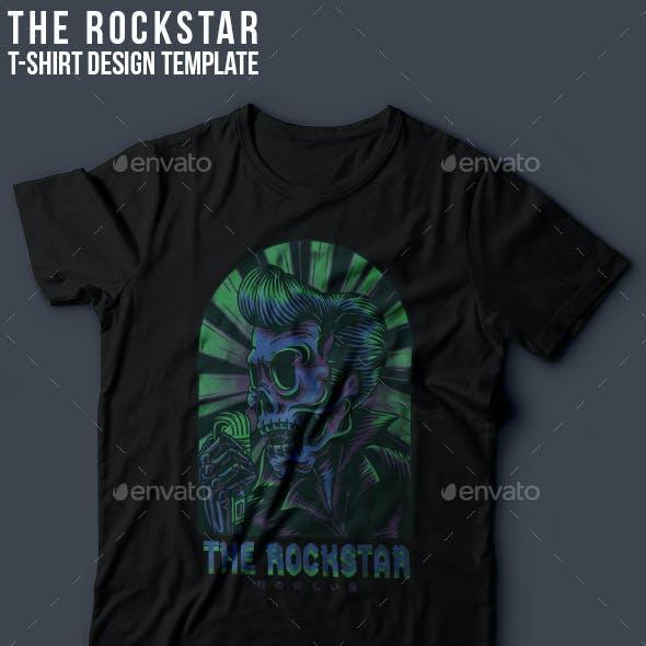 The Rockstar T-Shirt Design