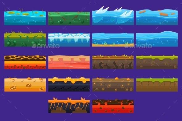 Landscape Elements Sett, Ground Collection