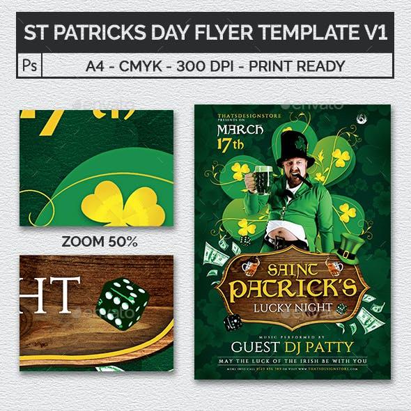 Saint Patricks Day Flyer Template V1
