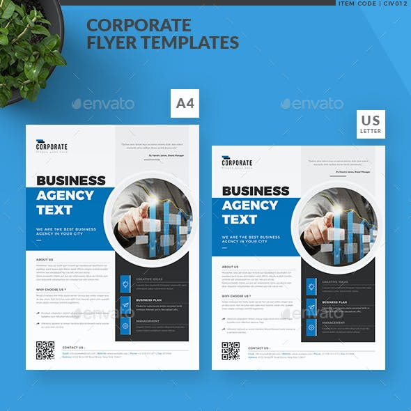 A4 and Magazine Business Flyer Templates from GraphicRiver (Page 6)
