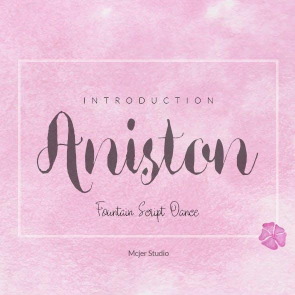 Aniston + Watercolor