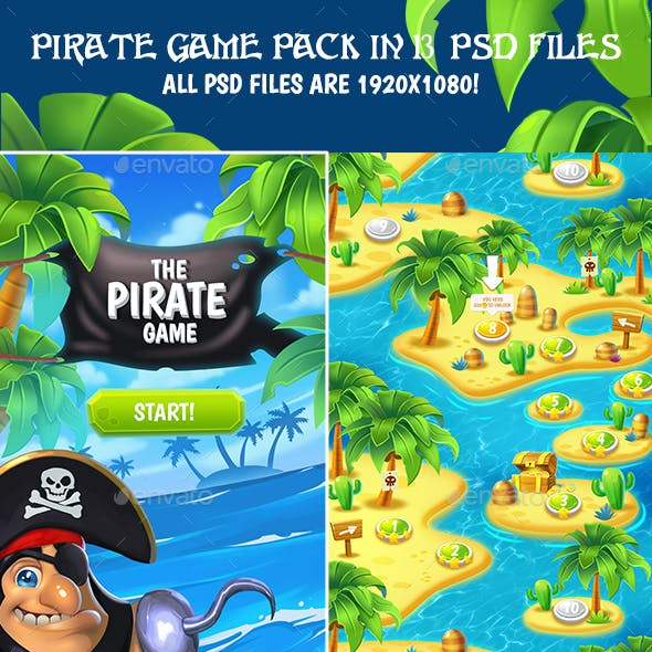 Full Pirate Game Pack