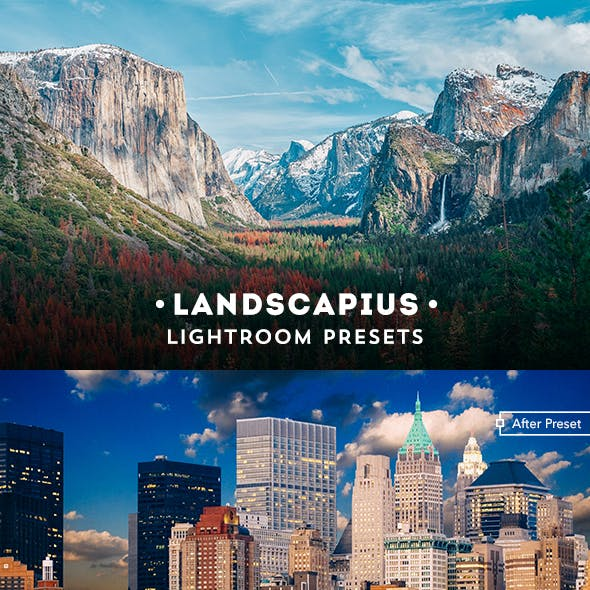 Landscapius 30 Lightroom Presets