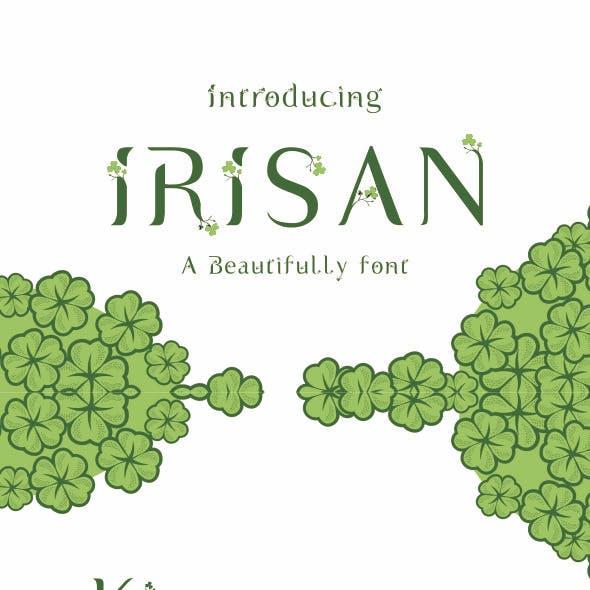 Irisan Font