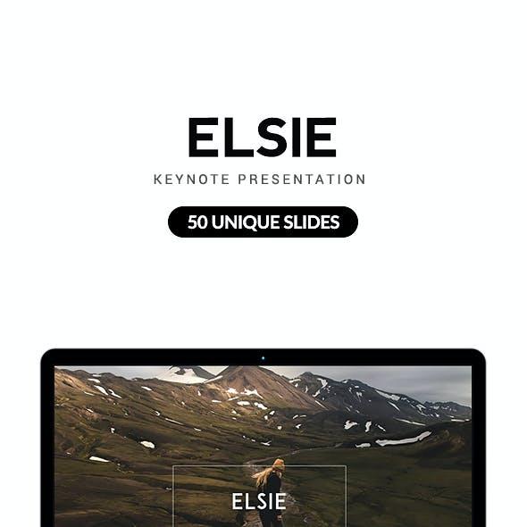 Elsie Keynote Presentation