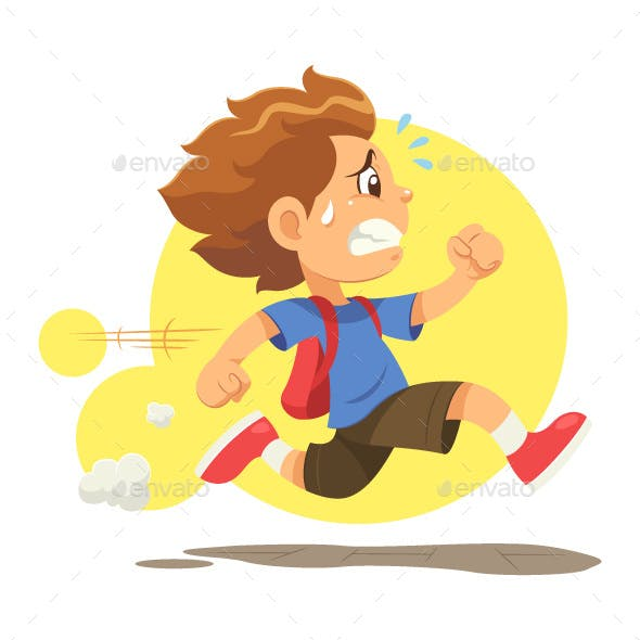 Running Late To School