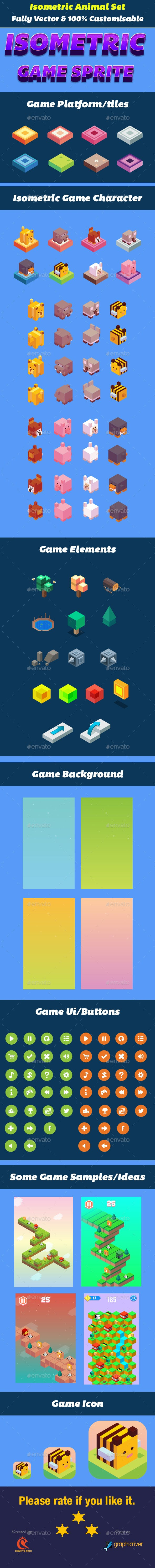 Isometric Animal Game