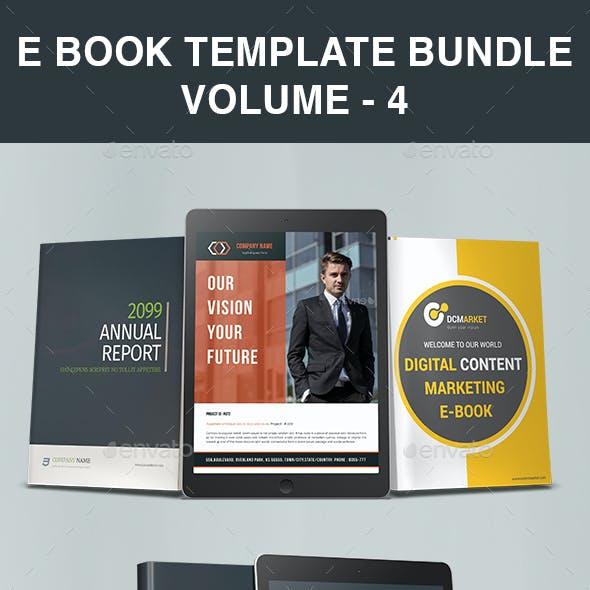 E Book Template Bundle | Volume - 4