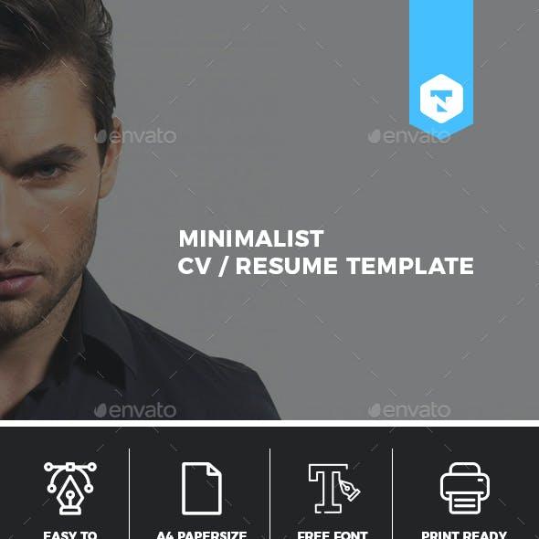 Minimalist CV / Resume Vol. 02