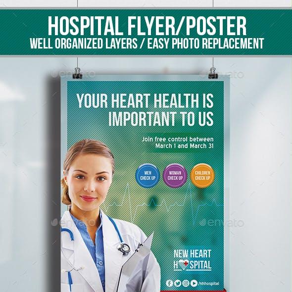Hospital Flyer&Poster