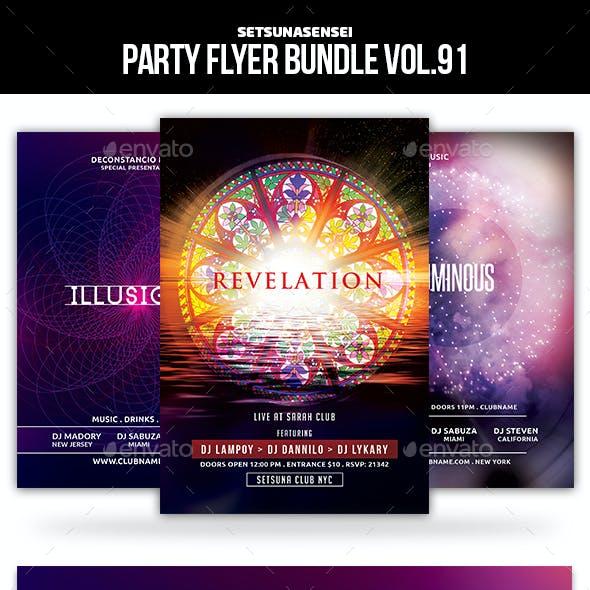 Party Flyer Bundle Vol.91