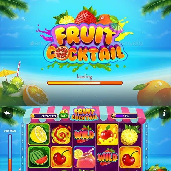 Fruit Cocktail Slot Game Kit