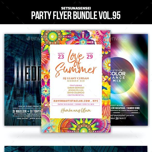 Party Flyer Bundle Vol.95