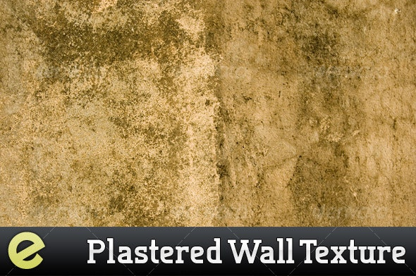 Sepia Plastered wall texture - Concrete Textures