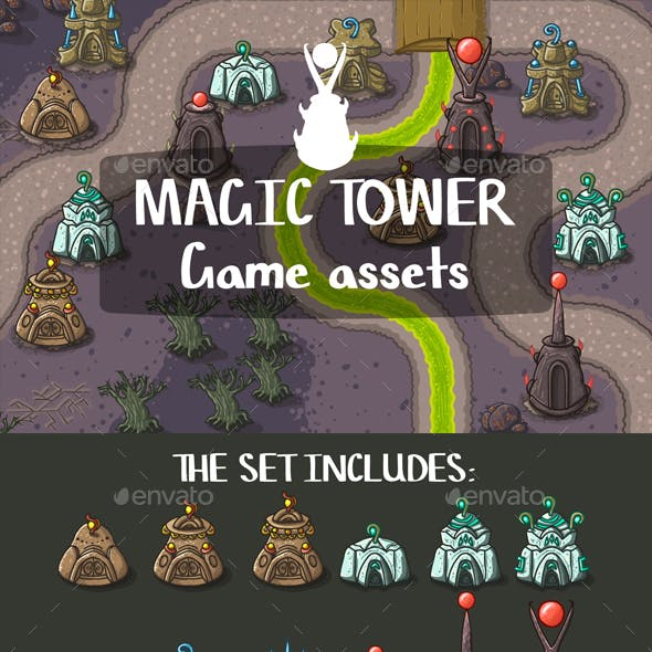 Magic Tower Game Objects