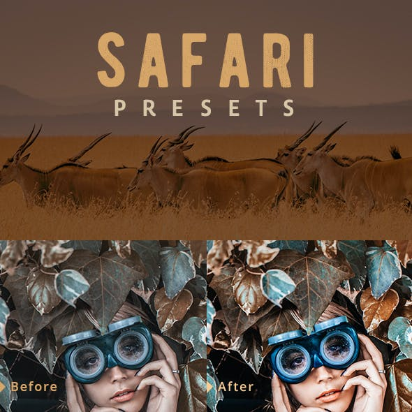 Safari Lightroom Presets