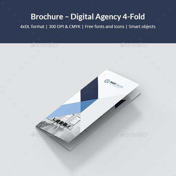 Brochure – Digital Agency 4-Fold
