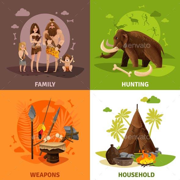 Stone Age 2x2 Design Concept
