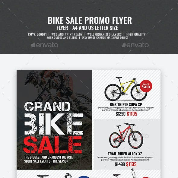 Bicycle Shop Promo Flyer