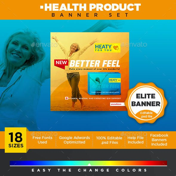 Health Product Banner