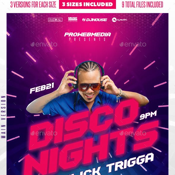 Party DJ Flyer