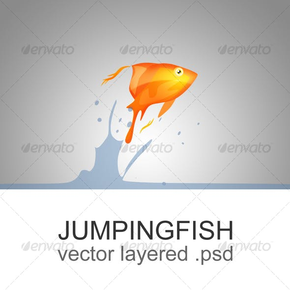 The jumping fish