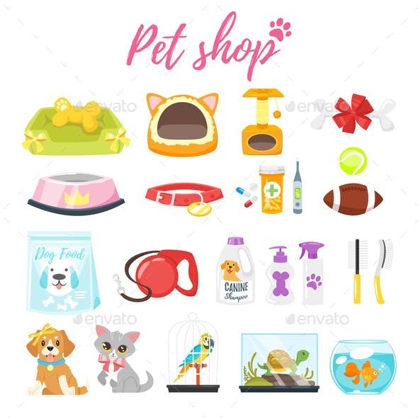 Pet Shop Icons