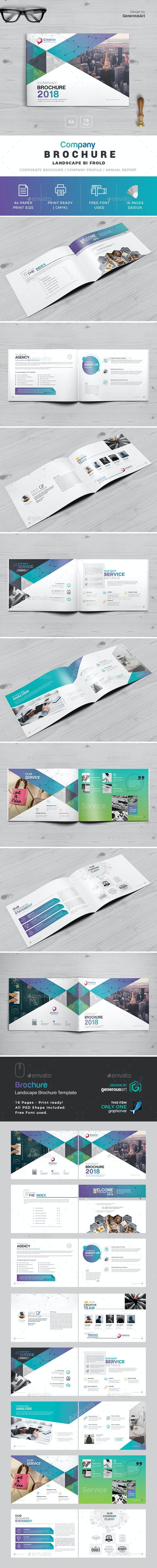 Company Landscape Brochure - Corporate Brochures