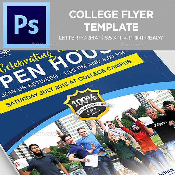 College Flyer - Templates
