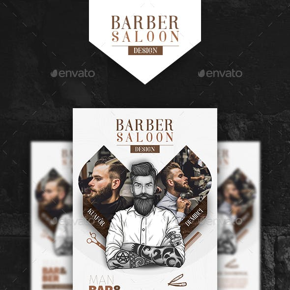 Barber Poster Templates