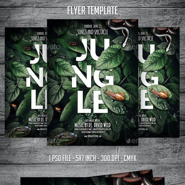 Jungle Flyer Template