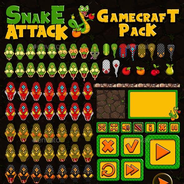 Snake Attack - Game Assets