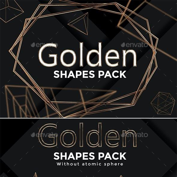 Golden Shapes Pack