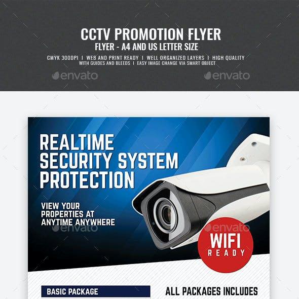 CCTV Surveillance Camera Flyer