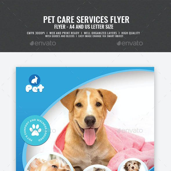 Pet Grooming Promotional Flyer