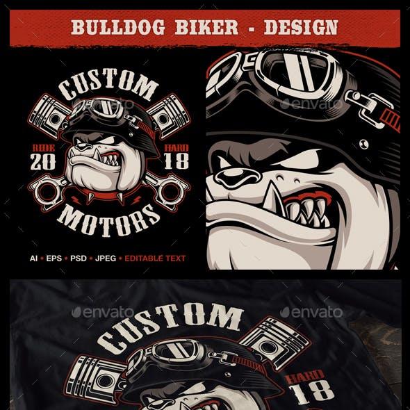 Bulldog Biker