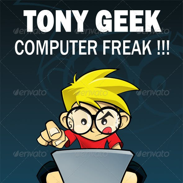 Tony Geek - Computer Freak