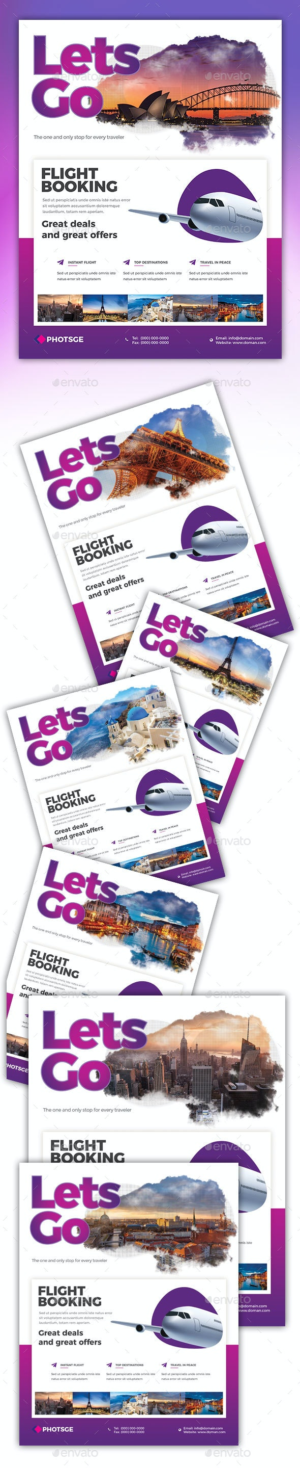 Travel Flyer - Commerce Flyers