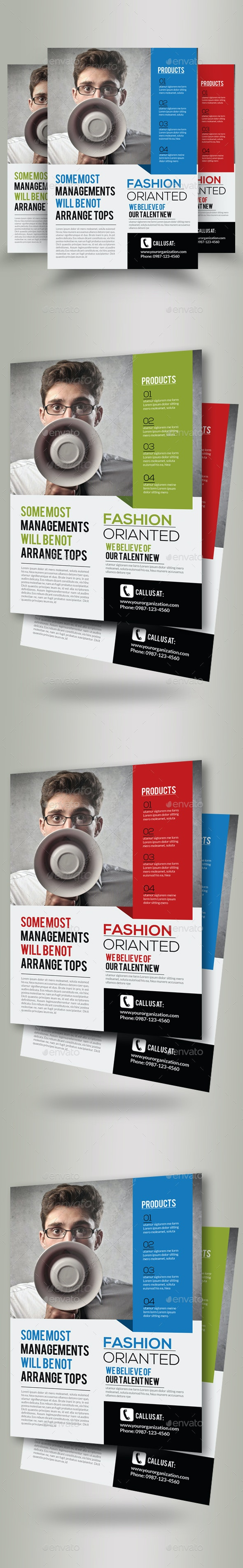 Business Marketing Consultant Flyers - Corporate Flyers